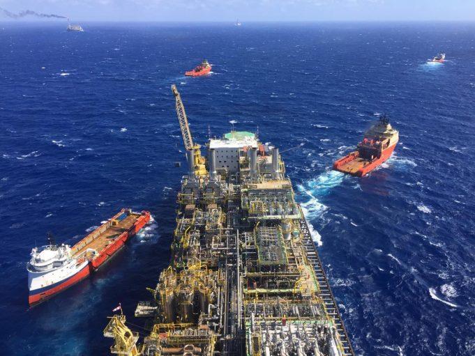 Bacia de Santos atinge recorde na produção brasileira de petróleo e gás