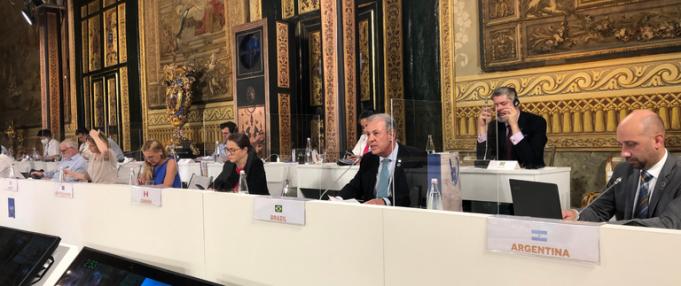 Ministro Bento Albuquerque participa de reunião sobre o clima no G20