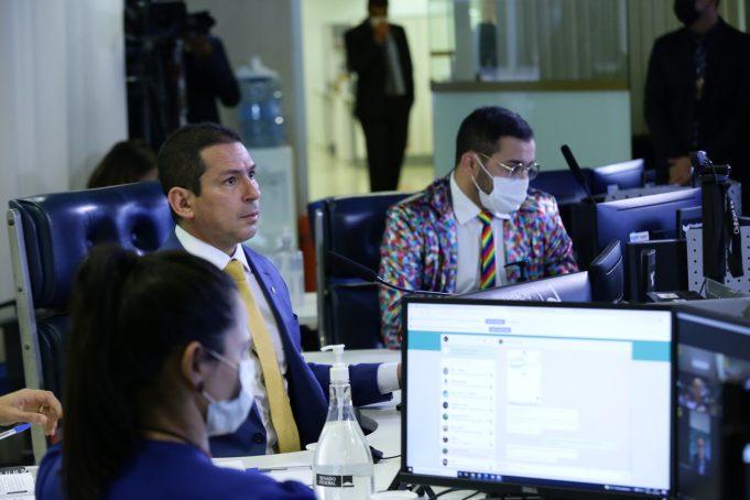 Vice-presidente da Câmara, dep. Marcelo Ramos, em votação da LDO 2022, que aumentou o valor do Fundo Eleitoral