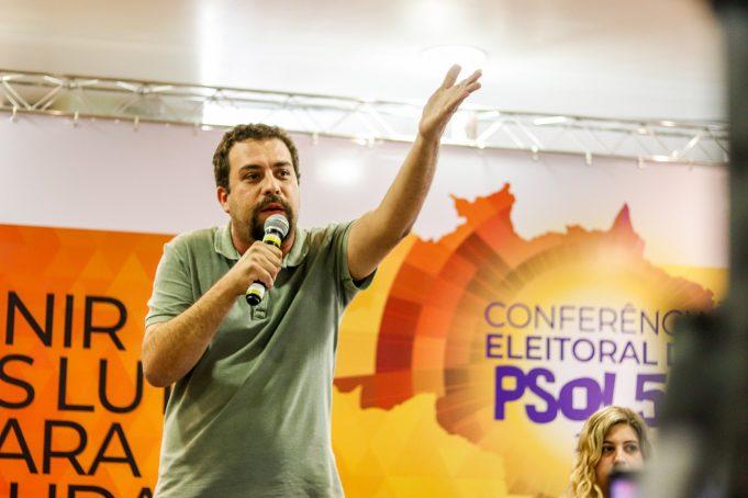 Guilherme Boulos. Fotos: PSOL/Divulgação.