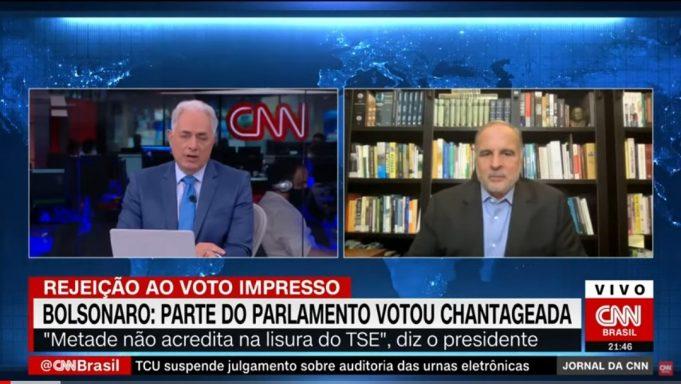 Murillo de Aragão comenta reforma eleitoral, voto impresso e Congresso